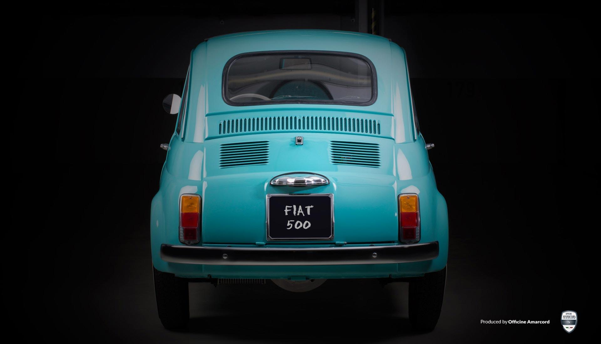 Fiat 500 F, city car elettrica e emissioni zero